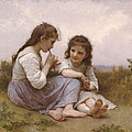 A Childhood Idyll by William-Adolphe Bouguereau