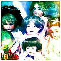 A Chorus Of Dolls - Toy Dreams 4 by Marianne Dow