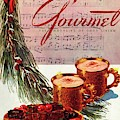A Christmas Gourmet Cover by Henry Stahlhut