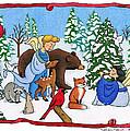 A Christmas Scene 2 by Sarah Batalka
