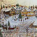 A Christmas Village by Doug Kreuger