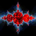 A Chrysanthemum Came Crashing Through by Elizabeth McTaggart