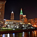 A Cleveland Night by Frozen in Time Fine Art Photography