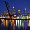 A Cleveland Ohio Evening On The River by Frozen in Time Fine Art Photography