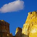 A Cloud Over Orange Rock by Jeff Swan
