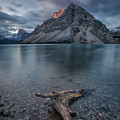 A Cloudy Day In Bow Lake by Michael Zheng