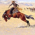 A Cold Morning On The Range  by Frederic Remington