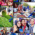 A Collage Of The Fresh Market In Kusadasi Turkey by David Smith