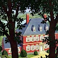 A Colonial Manor House by Pierre Brissaud