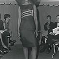 A Colored Mannequin At Jacques Esterel�s by Retro Images Archive