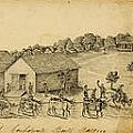 A Confederate Bull Battery Previous To The Battle Of Bull Run by Celestial Images