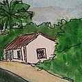 A Cottage Next To The Pathway by Vineeth Menon