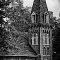 A Country Chuch's Bell Tower by Brian Mollenkopf