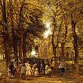 A Country Wedding by Charles Thomas Burt