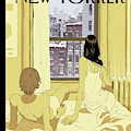 A Couple Stays In Bed While It Snows In The City by Tomer Hanuka