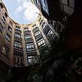 A Courtyard Curved Like A Hug - Antoni Gaudi's Casa Mila Barcelona Spain by Georgia Mizuleva
