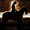 A Cowgirls Prayer Evening Ride by Chastity Hoff