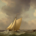 A Cutter In A Strong Breeze by Mountain Dreams