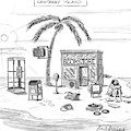 A Desert Island Full Of Outdated And Obsolete by Mort Gerberg