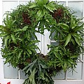 A Different Christmas Wreath by Living Color Photography Lorraine Lynch
