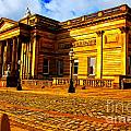 A Digitally Converted Painting Of The Walker Art Gallery In Liverpool Uk by Ken Biggs