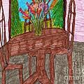 The Leaning Table by Elinor Helen Rakowski