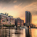 A Docklands Sunset by Paradigm Blue