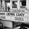 A Dollar A Stick Roman Chewing Candy In Bw by Kathleen K Parker