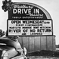 A Drive-in Theater Marquee by Underwood Archives
