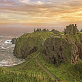 A Dunnottar Castle Sunrise - Scotland - Landscape by Jason Politte