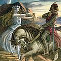 A Fairy And A Knight by Richard Doyle
