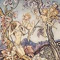 A Fairy Song From A Midsummer Nights Dream by Arthur Rackham