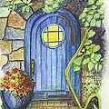 A Fairys Door by Carol Wisniewski