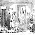 A Family Prepare To Partake Of  A Shower by Mary Evans Picture Library