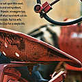 A Farmer And His Tractor Poem by Kathy Clark