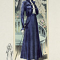 A Fashionable French Lady by French School
