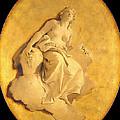 A Female Allegorical Figure by Giovanni Battista Tiepolo