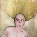 A Female Portrait by Angel Ciesniarska