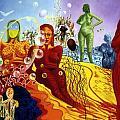 A Feminine Day In A Masculine Dreamer's Night by Genio GgXpress