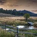 A Fence In A Field by Noah Katz