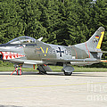 A Fiat G-91 Fighter Plane Of The German by Timm Ziegenthaler