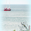 A Fine Day For A Red Boat by Kathy Barney