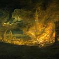 A Fire In The City by Daniel van Heil