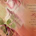 A Fleur De Peau - Happiness Quote 03 by Aimelle