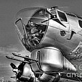 A Flying Fortress Bw by Mel Steinhauer