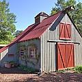 A Garden Barn by Gordon Elwell