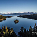 A Generic Photo Of Emerald Bay by Mitch Shindelbower