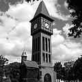 A German Bell Tower Bw by Mel Steinhauer