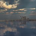 A German U-boat On Patrol by Mark Stevenson