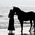 A Girl And Her Horse by Carol Walker